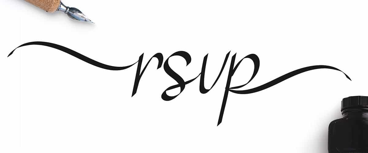 RSVP – Display Calligraphy Free Premium Font