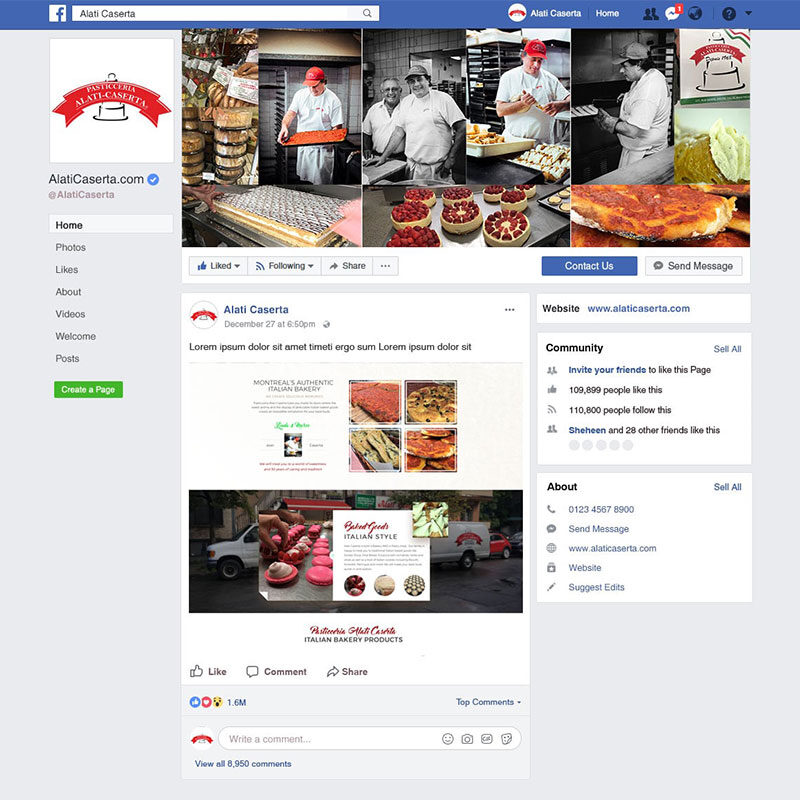 Alati Caserta – Social Media Artwork
