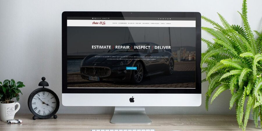 Auto ELG – Custom Website Design