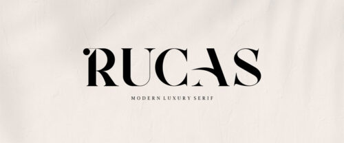 Free Premium Font – RUCAS – Modern Luxury Serif