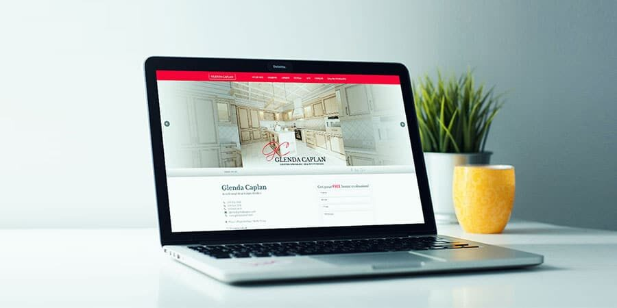 Glenda Caplan – Real Estate Broker Website