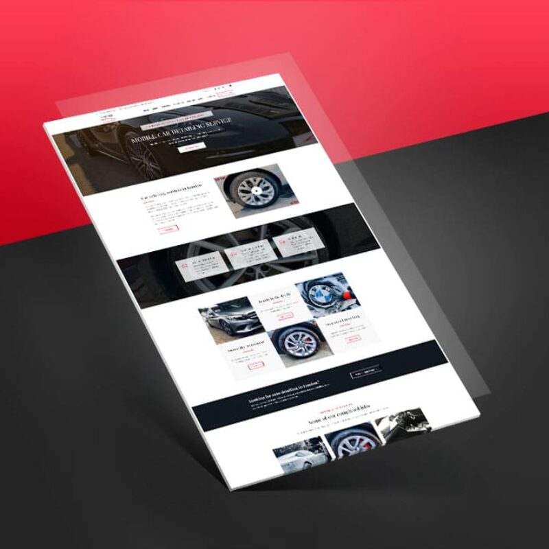Master Auto Detailing – Website Development